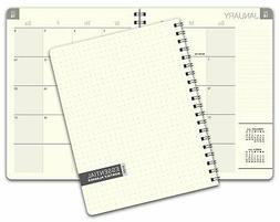Essential 8.5x11 Monthly 2019 Planner - 14 Months (November