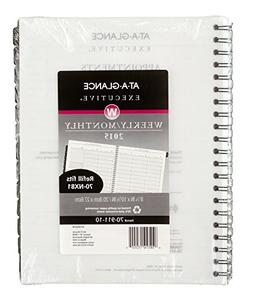 AT-A-GLANCE Executive Weekly and Monthly Appointment Book Re