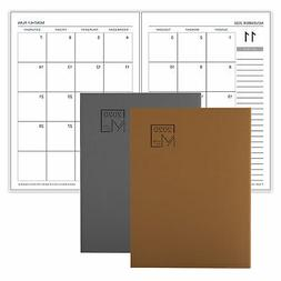 Functional Professional 12 Monthly Planner Book Luxurious Le