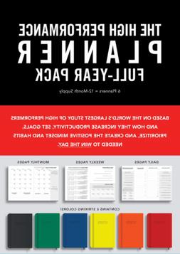 High Performance Planner Full-Year Pack: 6 Planners = 12-Mon