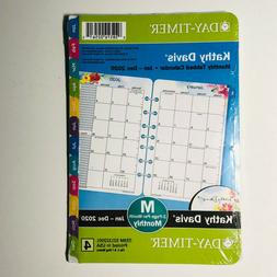 Kathy Davis for Day-Timer 2020 Monthly Planner Refill, 5-1/2
