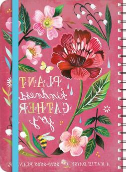 FLOWER COVER by KATIE DAISY 2020 17 MONTH WEEKLY PLANNER NEW