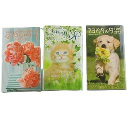 Kittens Cats Puppies Dogs Flowers 2021 2022 Two Year Monthly