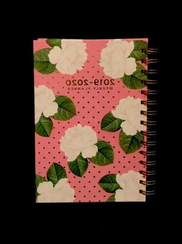 2019 2020 weekly and monthly planner calender