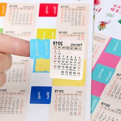 2019 Calendars for Planners, Stic