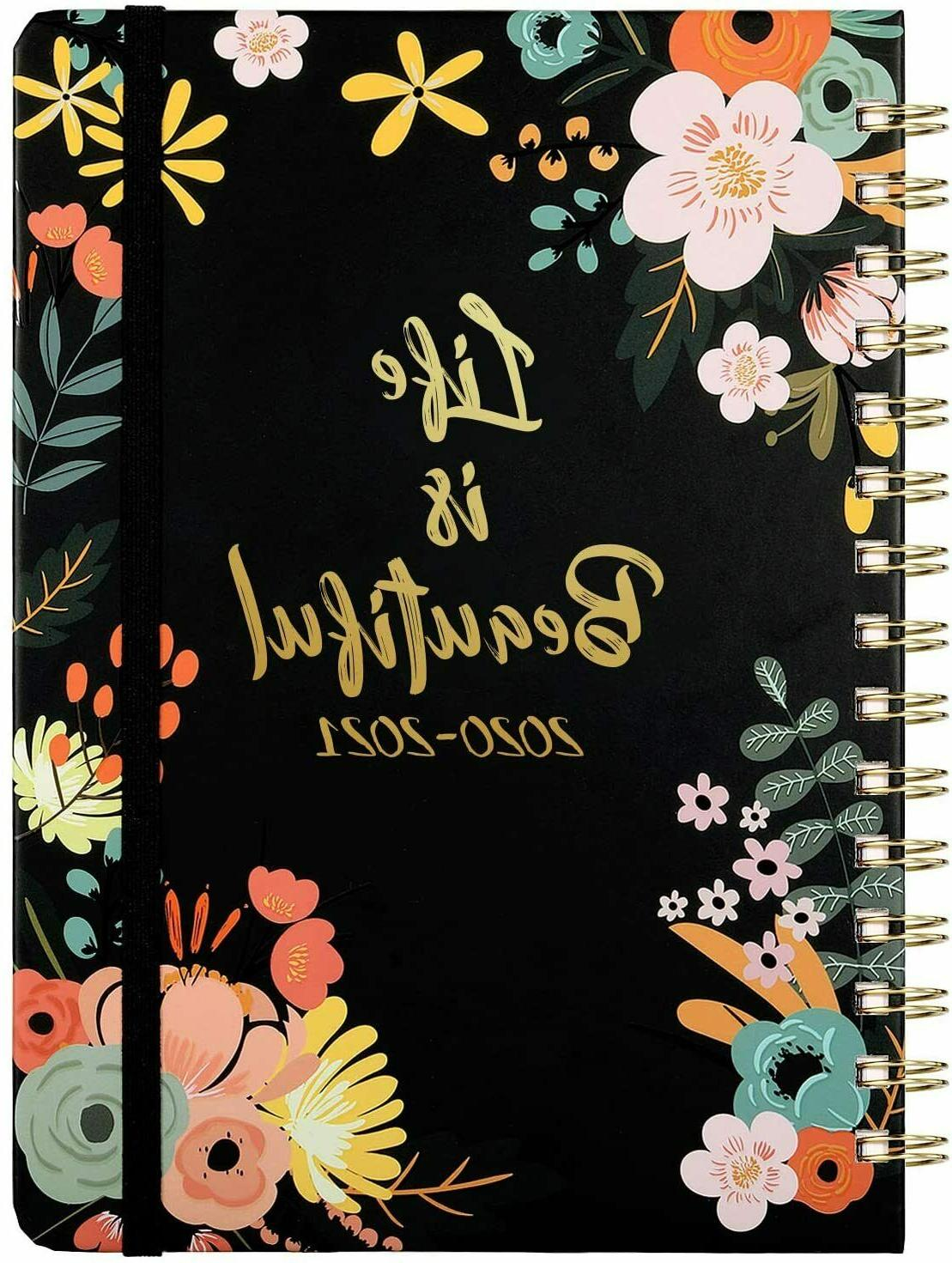 2020 2021 planner academic weekly monthly planner