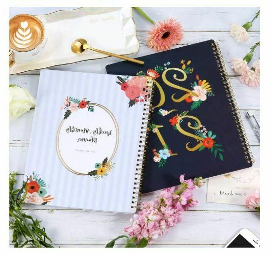 2020-2021 & Monthly Planner with Premium Thick