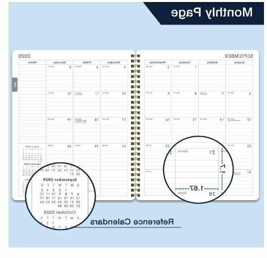 2020-2021 Academic Weekly & Planner Premium Thick