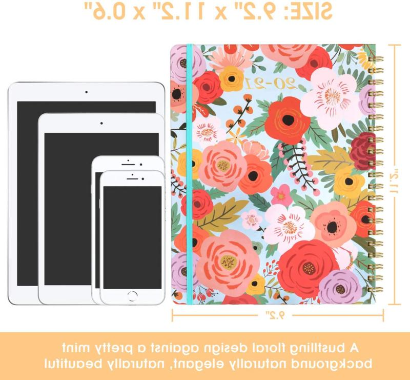 2020-2021 Planner - Weekly Monthly Planner Tabs, x H