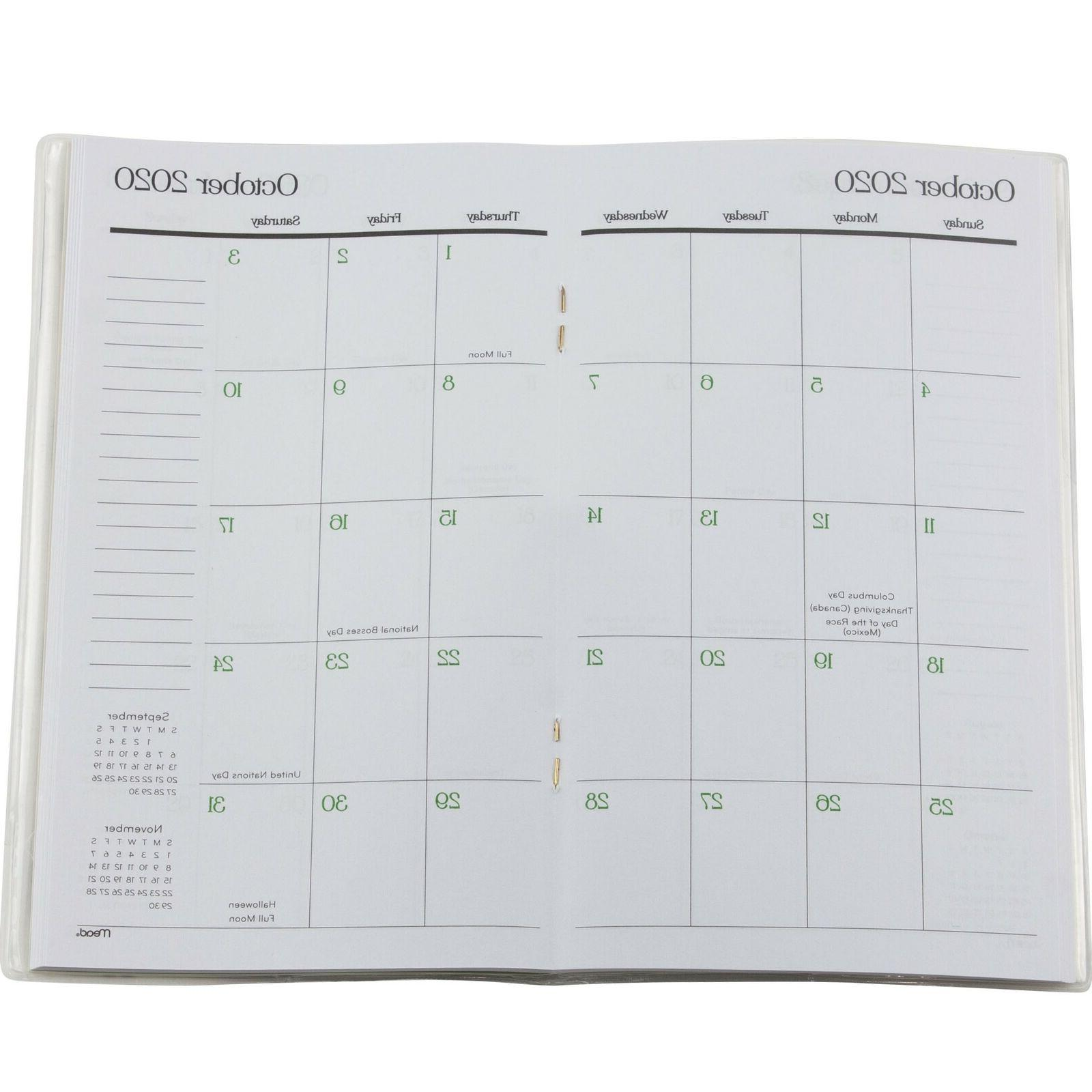 """Mead 2021 Two Year Pocket Mini Planner 3.75"""" x"""