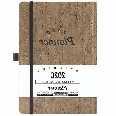 2020 planner weekly and monthly planner
