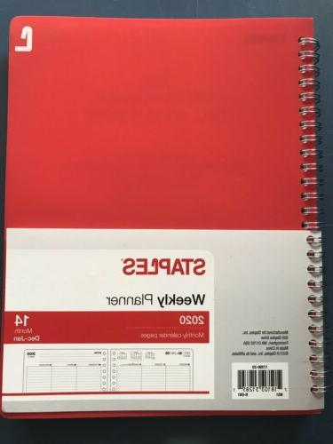 2020 planner weekly with monthly pages 17390