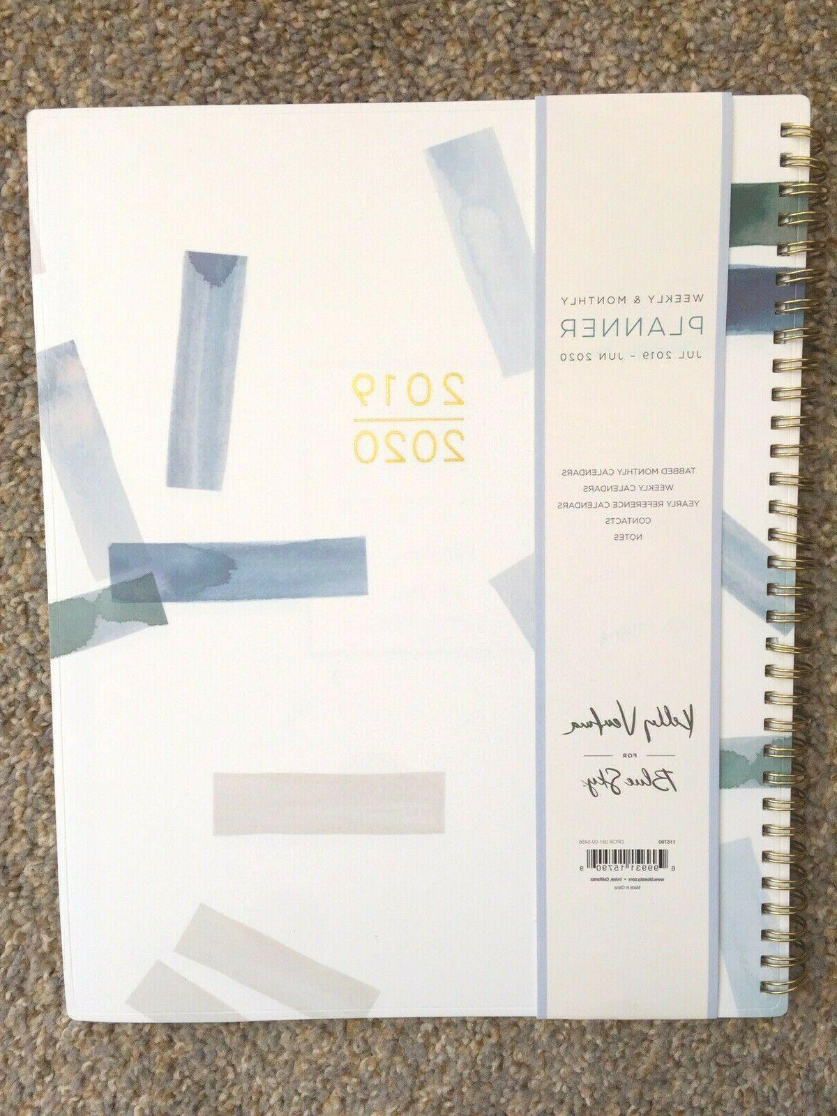 2020 weekly and monthly planner flexible cover