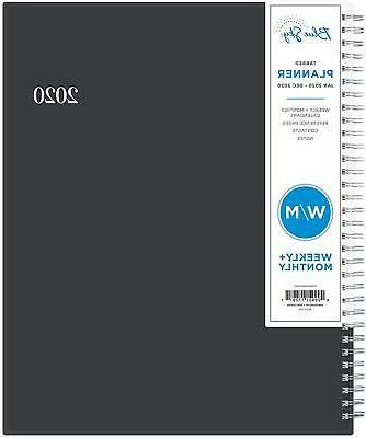 2020 weekly and monthly professional planner flexible