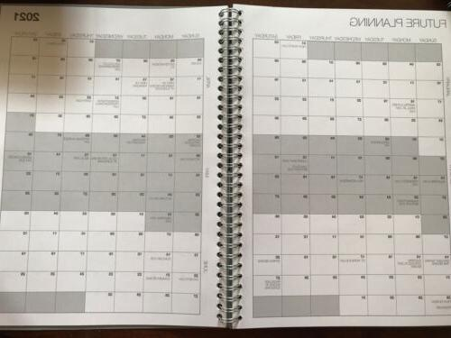 """Staples Weekly Appointment Book Planner 8X11"""" Monthly Calendar"""