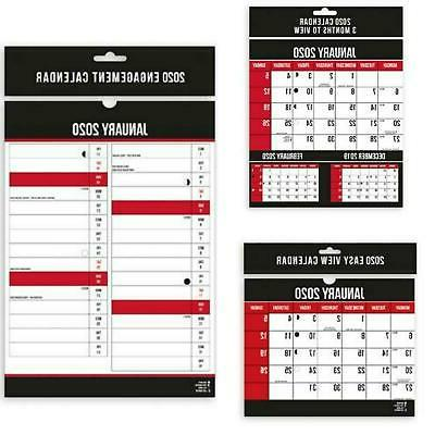 2020 year commercial hanging calendar planner daily