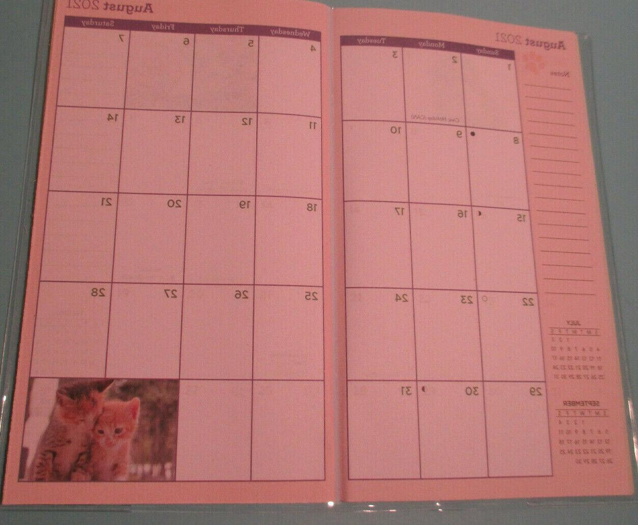 2021-2022 KITTENS MONTHLY POCKET PLANNER 6.5X3.75