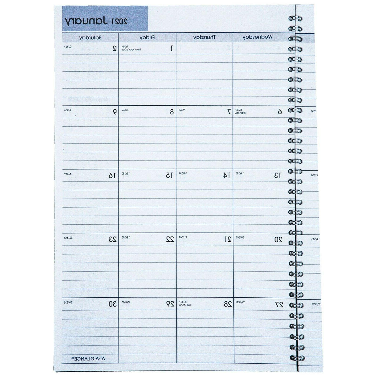 """2021 At-A-Glance Monthly x 11-7/8"""""""