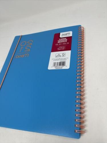 """MEAD Monthly 11"""", Large Teal"""