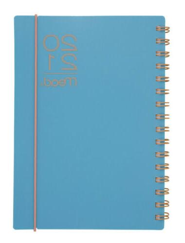 2021 weekly monthly planner turquoise 5 1