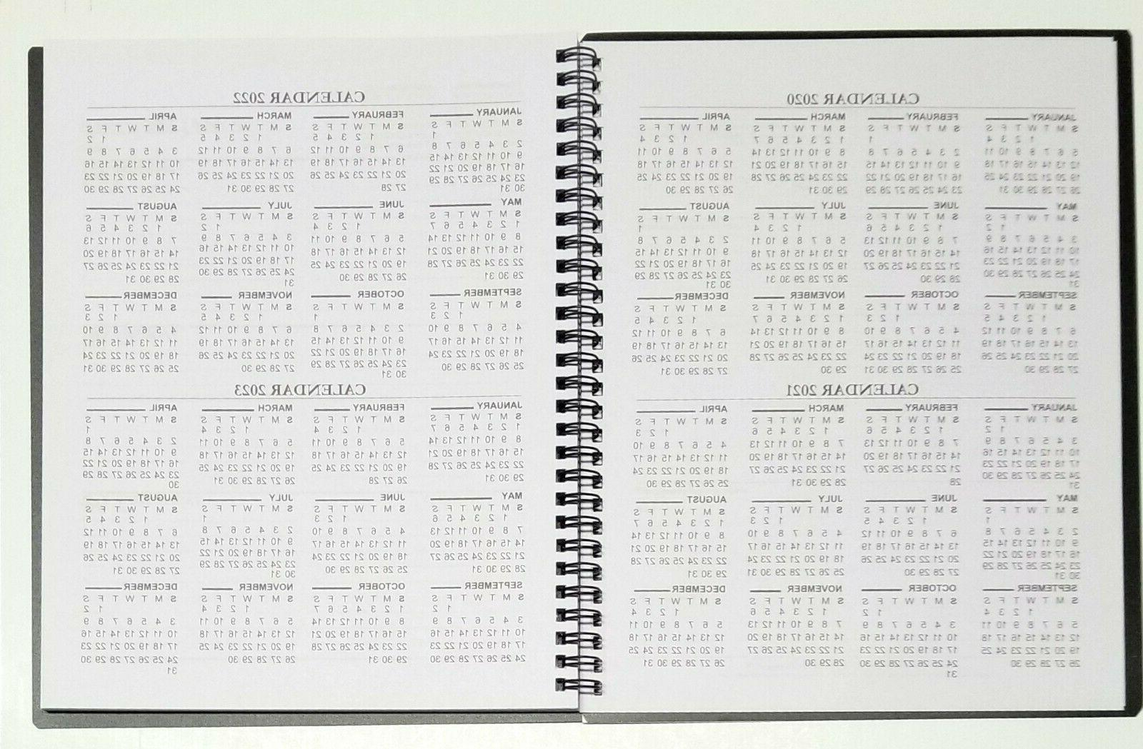 2021 bound planner with durable Cover x