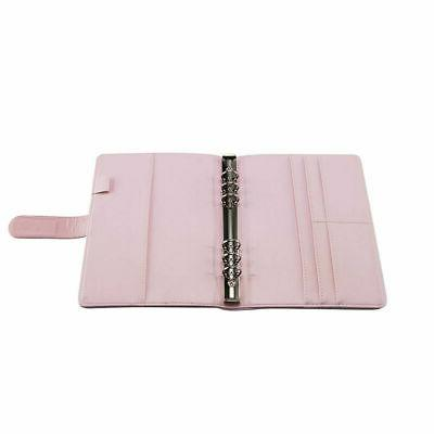 A6/A5 Ring Binder Notebook Monthly Planner