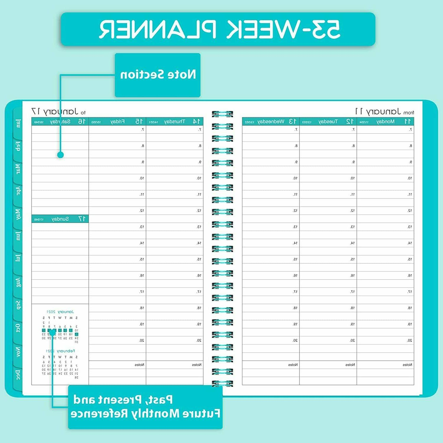 Agenda Planner Daily Weekly Appointment Book NEW
