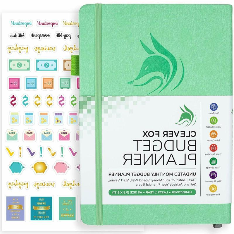 budget planner expense tracker notebook monthly budgeting