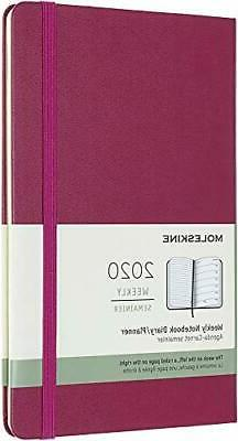 Moleskine Classic 12 Month 2020 Weekly Planner, Hard Cover,