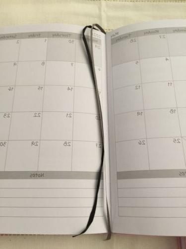 January Monthly, Daily Planner