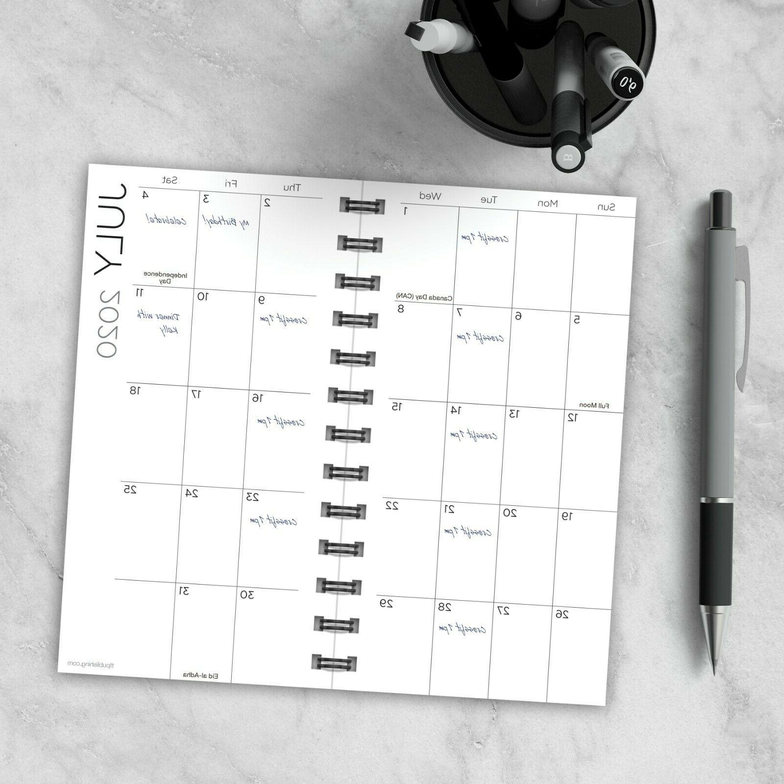 July - 2021 Small Daily Weekly Planner