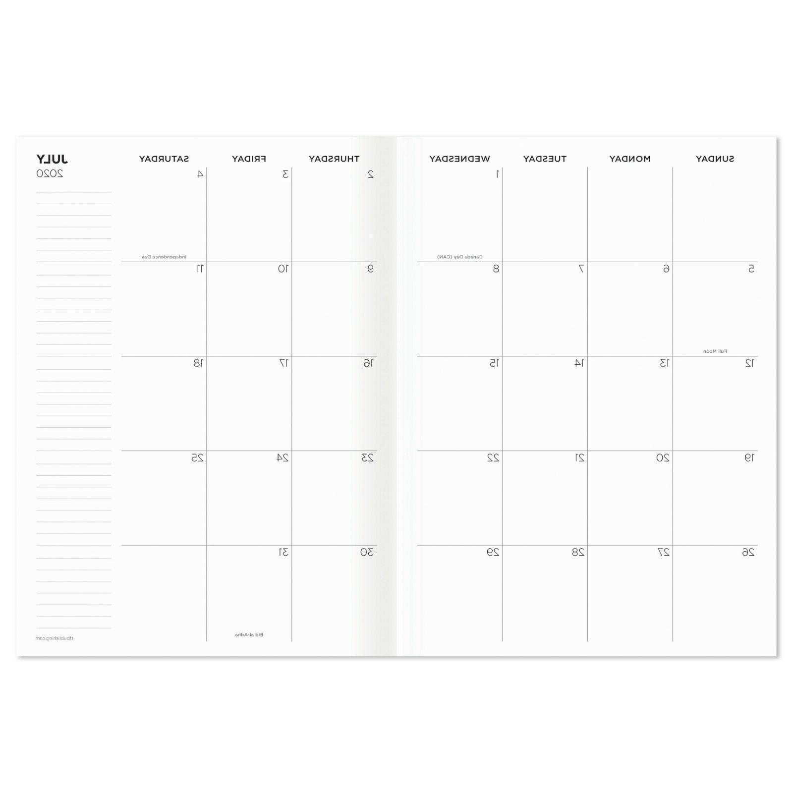 2021 Charcoal Planner