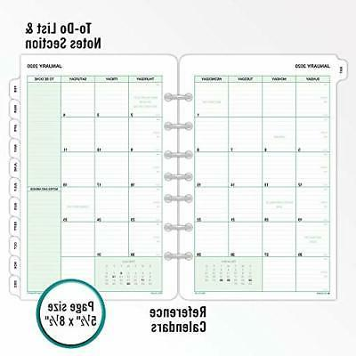 Day Designer Weekly/Monthly Planner, 8.5 x 11, Peyton Navy,