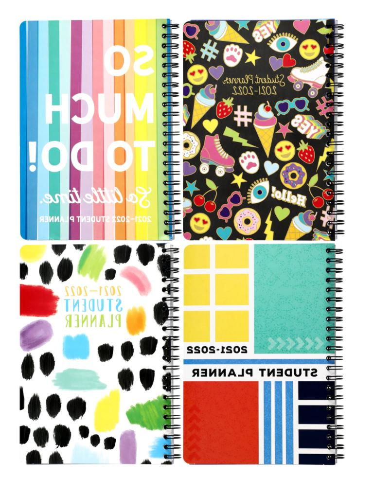 new 2019 2020 student weekly daily planner