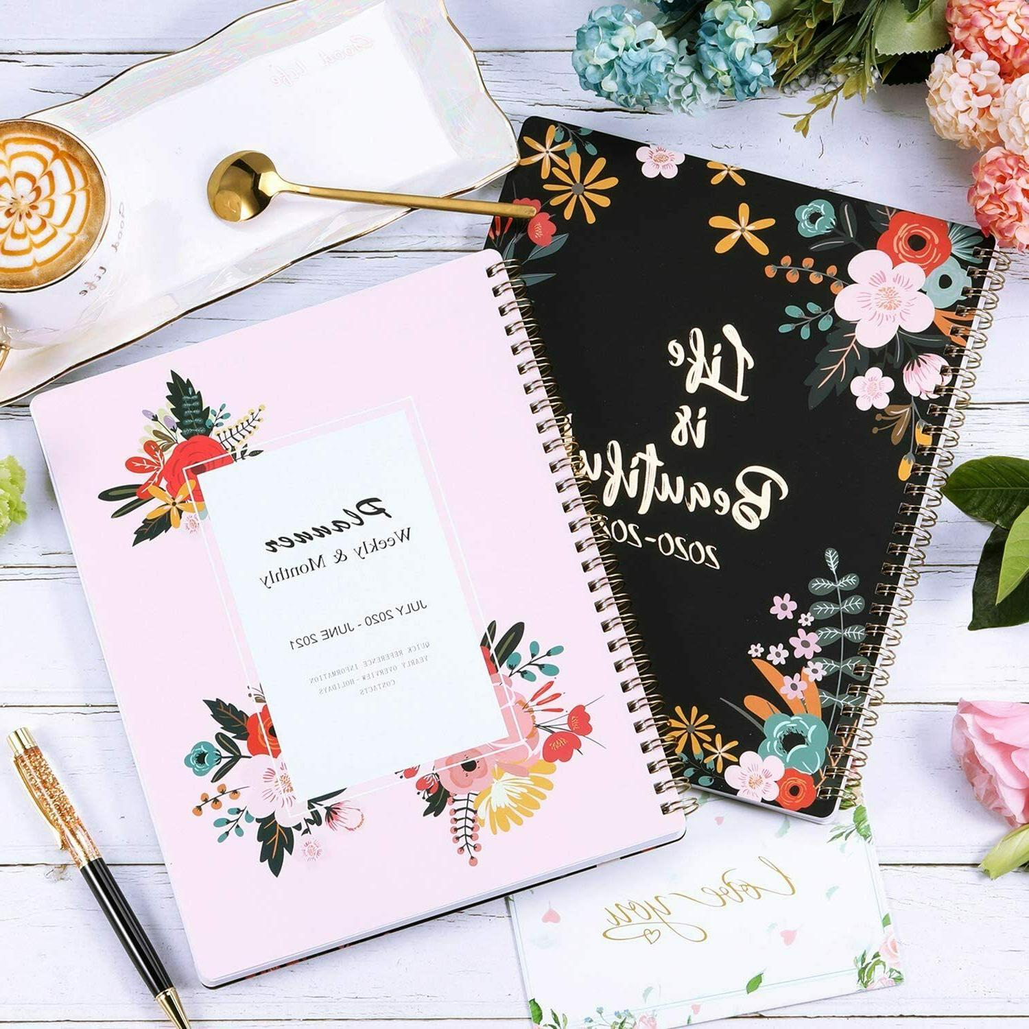 """Monthly Planner 10"""" with Floral"""