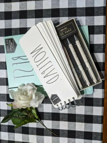 """NEW Set 2021 """"BEST YEAR EVER"""" Planner/ PEN PAD"""