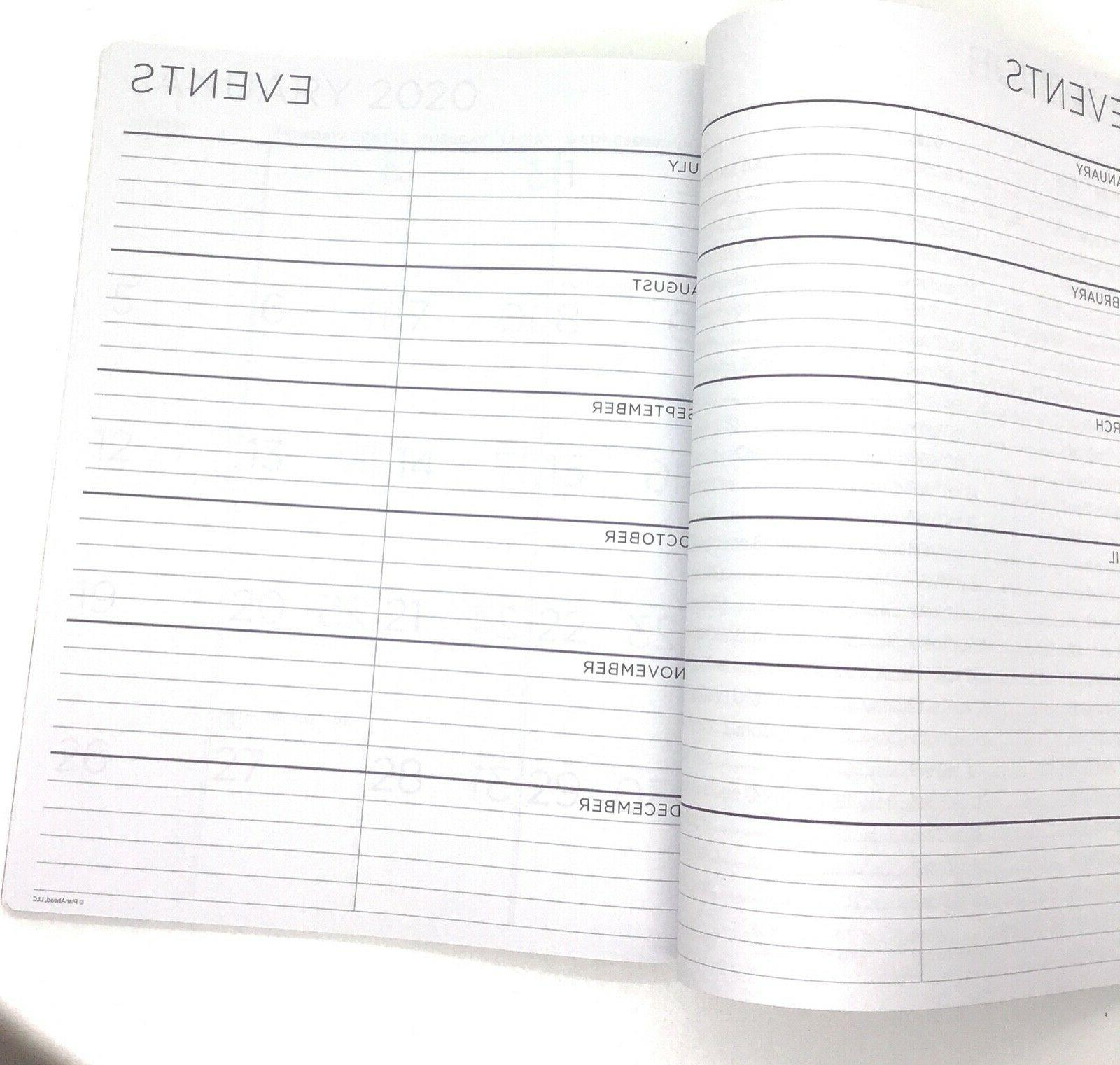 PlanAhead it 2-Year Planner, 2020-2021 Large Print