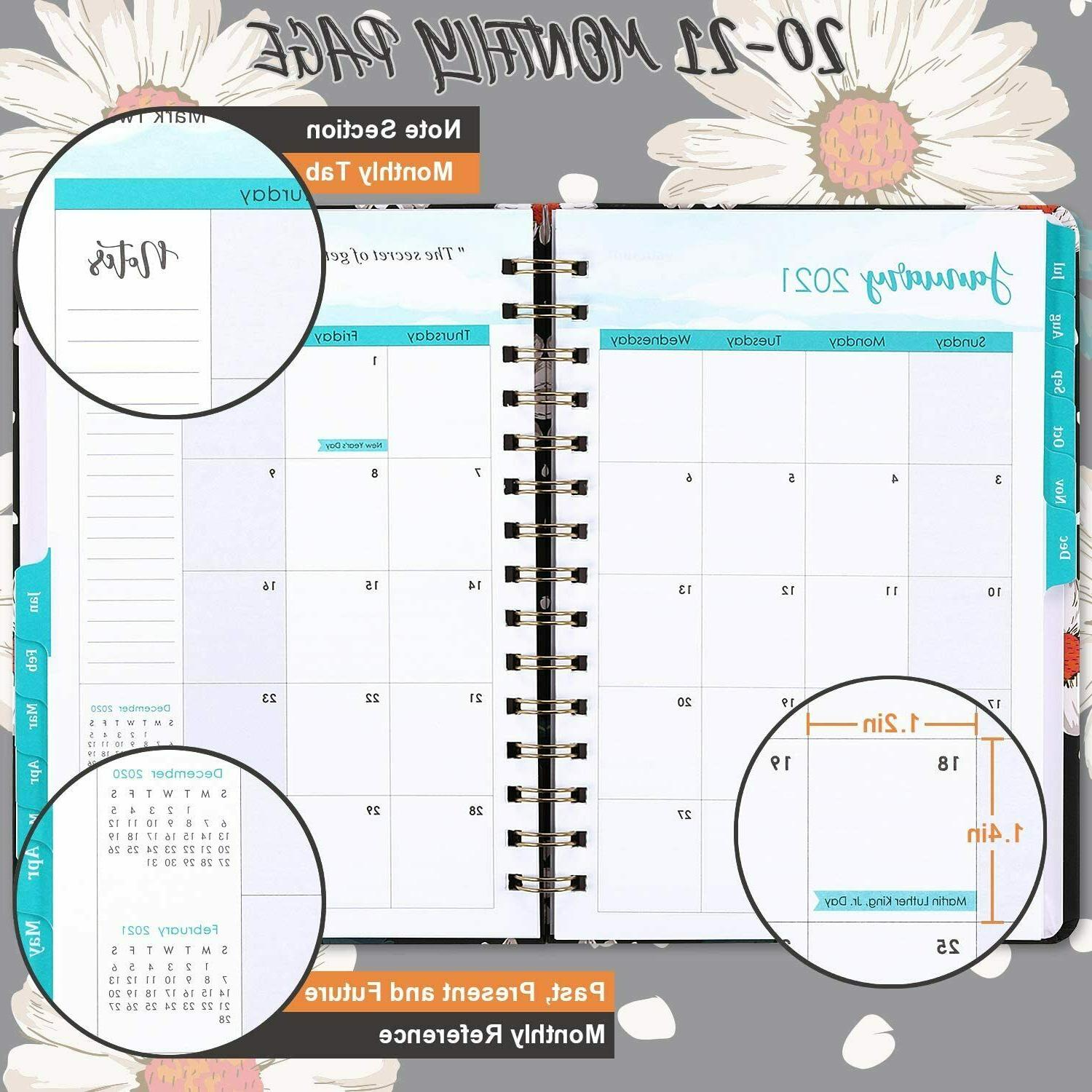 Planner 2020-2021 Planner & Pages,