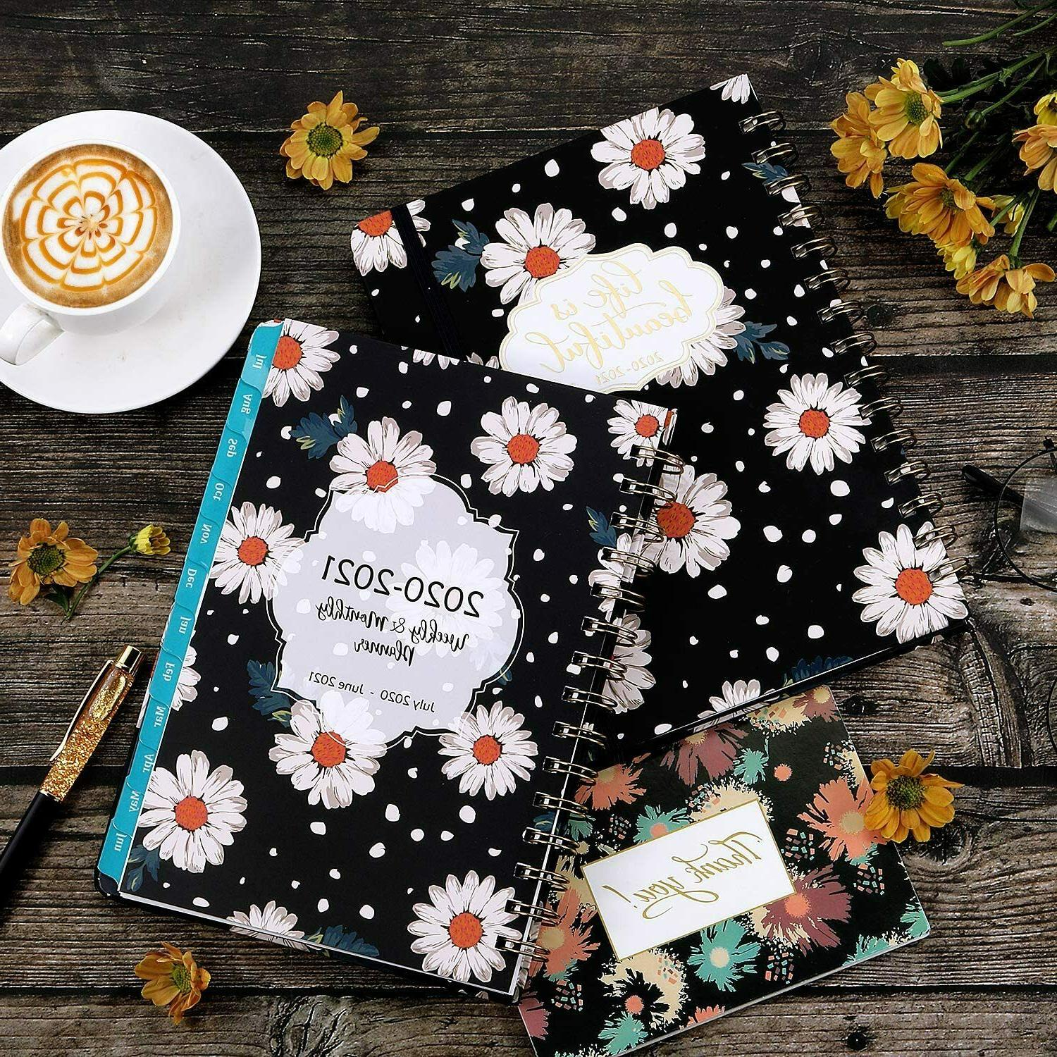 Planner Academic 2020-2021 with & Monthly Pages,