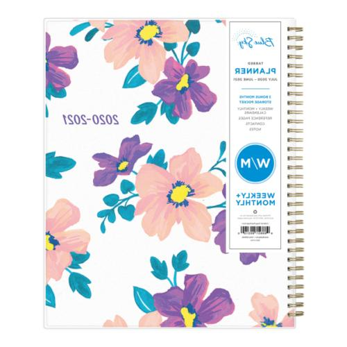 Blue Sky Polypropylene Academic Weekly/Monthly Planner, 8-1/