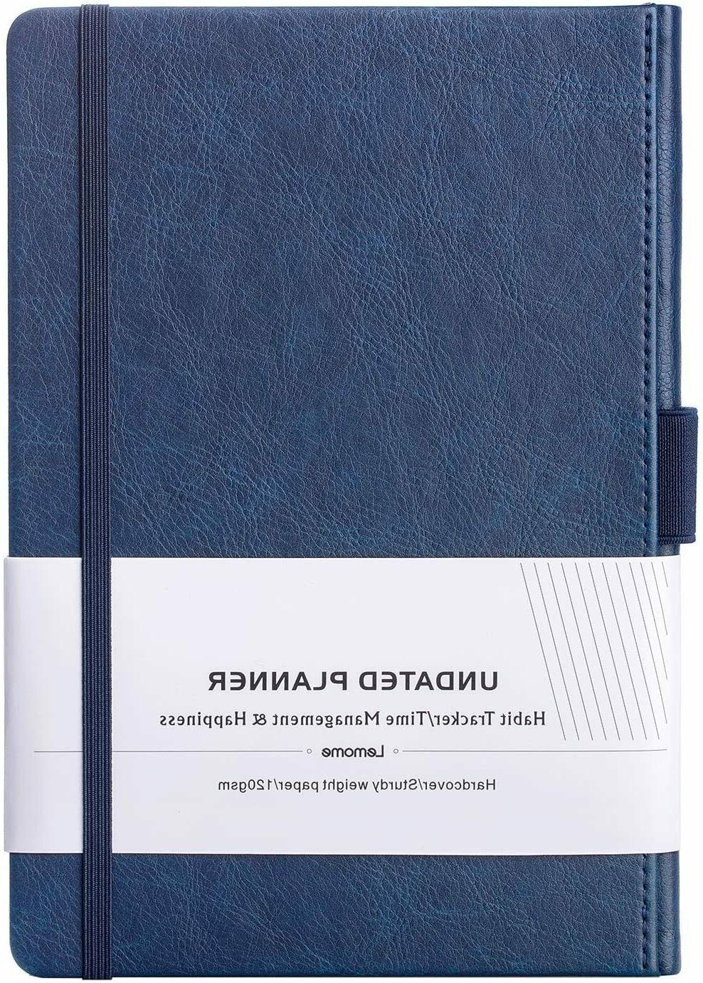 premium undated weekly and monthly planner