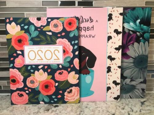 pretty planners 2020 planner weekly and monthly