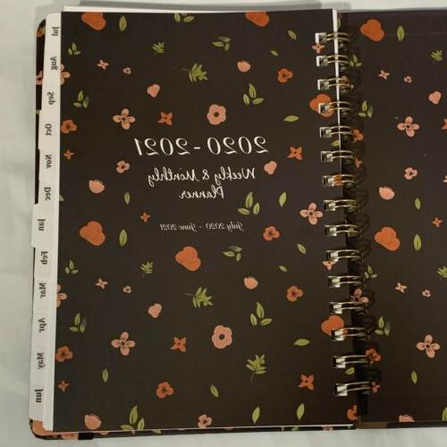 Sloth Monthly Planner Tabs July 2021