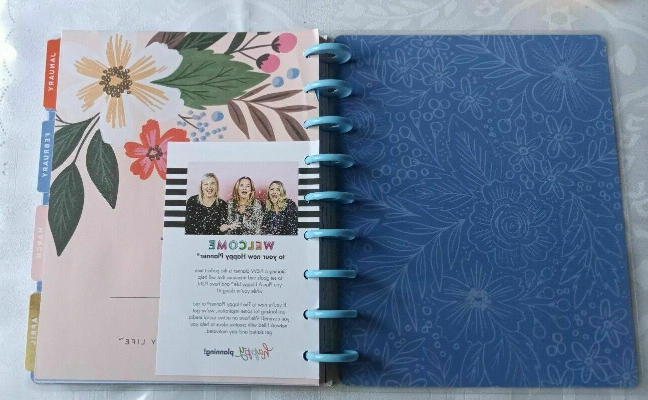 The 2020 12 Month Planner Journal Diary Floral
