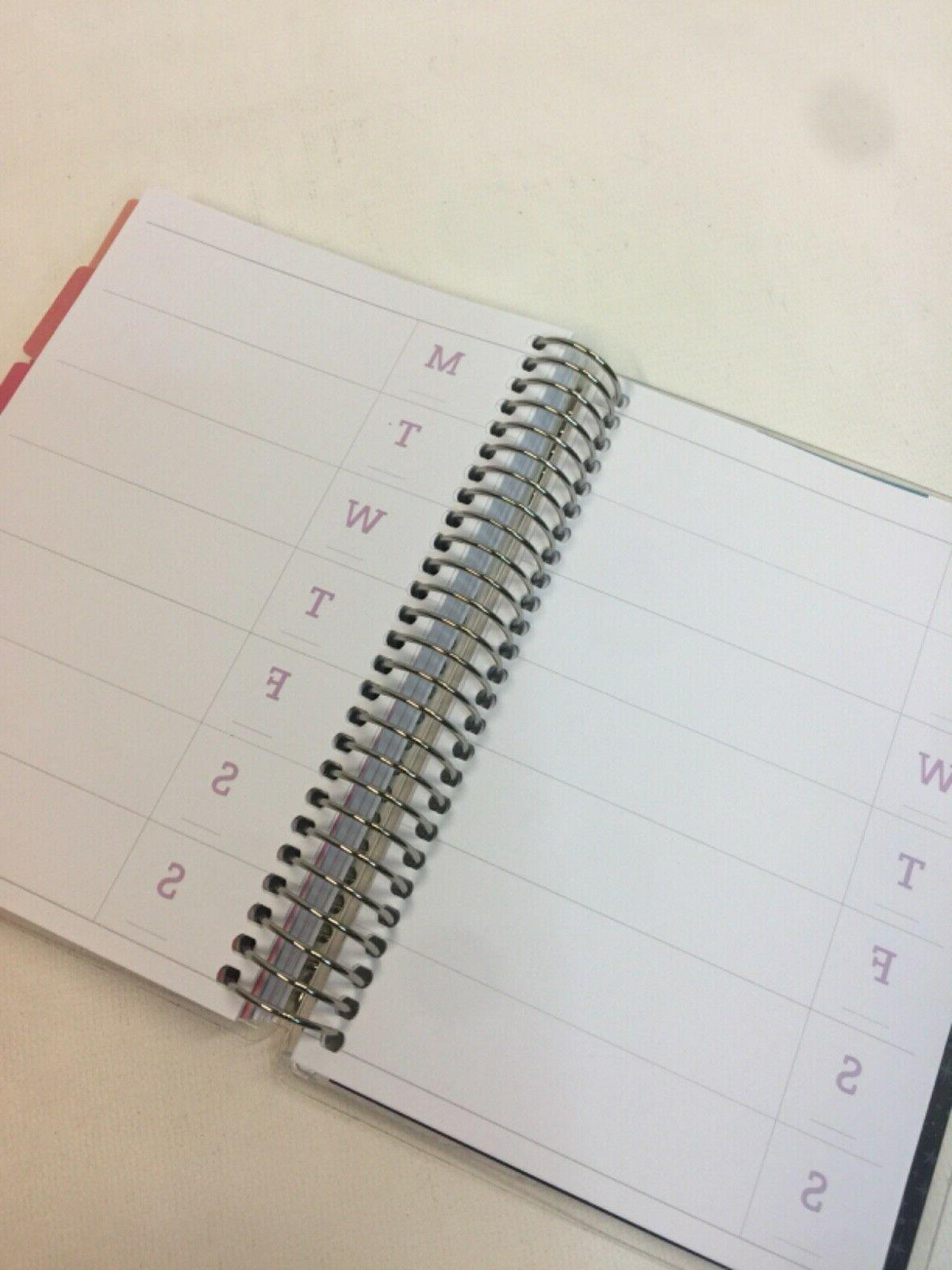 Recollections Undated Spiral Goals Planner