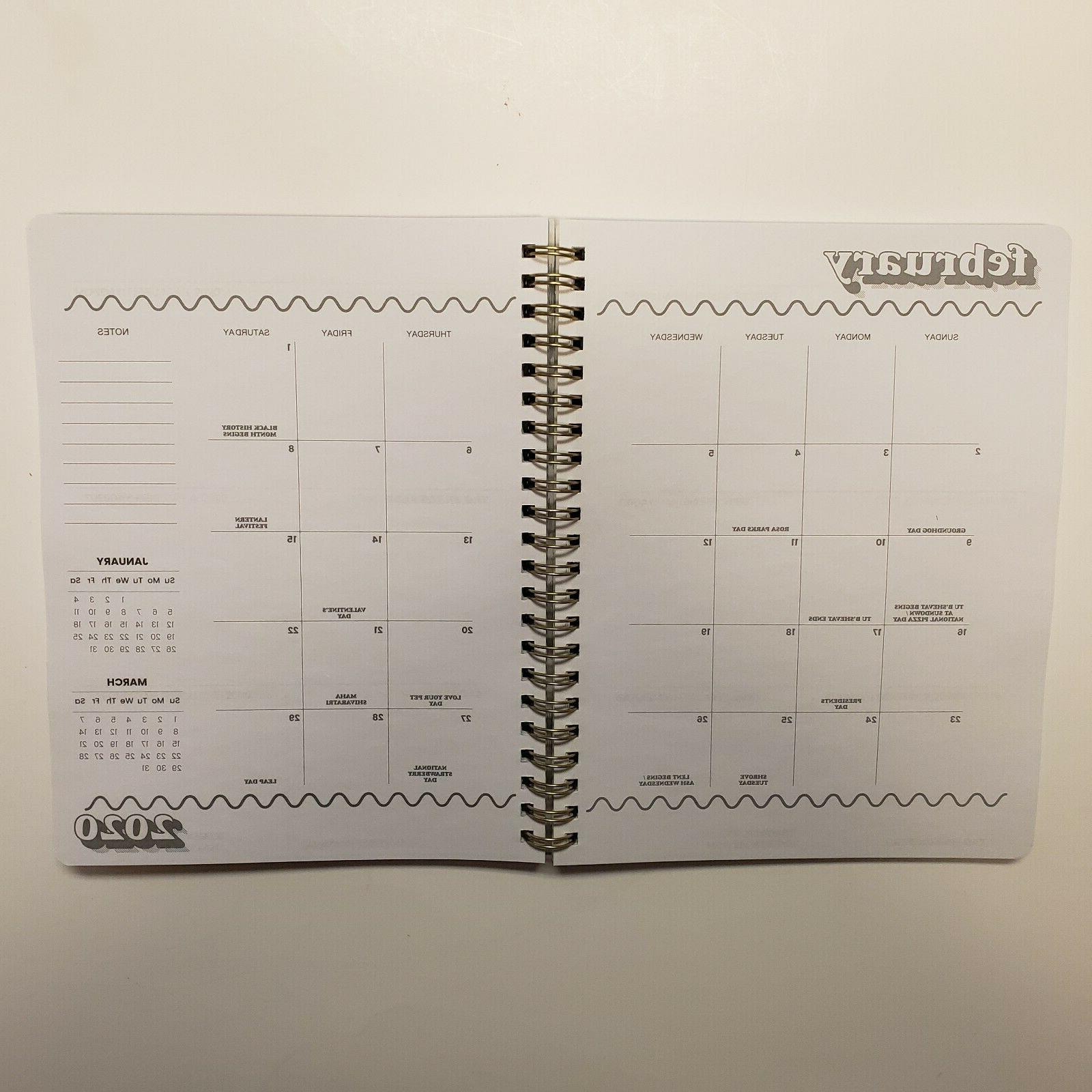 Yoobi 2019-2020 Academic & Weekly Planner Talk To Hand 6 x 8