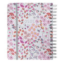 Vera Bradley Large 17 Month Daily Planner, Aug 2019 - Dec 20
