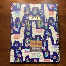 Llama Daily Planner 2020 Calendar Year - Weekly & Monthly Pl