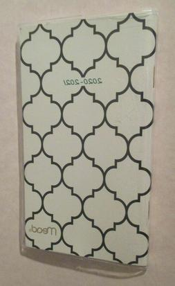 """MEAD Small 2020-2021 MONTHLY Purse POCKET 6X3.75"""" PLANNER Co"""