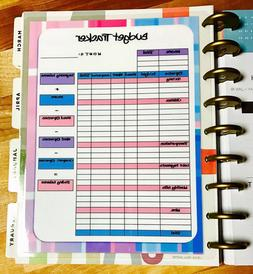 Monthly Budget Spending Tracker Dashboard Insert 4 use with